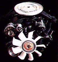1985 Mustang GT engine