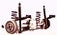 1988 Mustang GT rear suspension