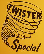 1970 Twister Special Mustang logo