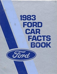 1983 Ford Car Facts Book