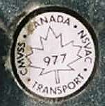 1988 Canadian Mustang GT Cobra transport decal
